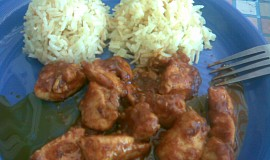 Kuřecí maso se švestkami a skořicí