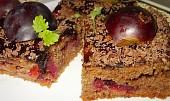 Medovo-perníkové kostky s dýní a švestkou