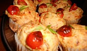 Mozzarellové muffiny