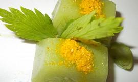 Kostky s brokolicí do naší kuchyně  / s kořením  nebo s bylinkami /