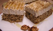 Ořechovo-medový řez