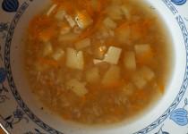 Pohanková polévka s česnekem