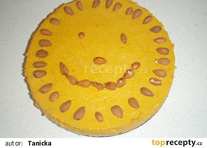 Sluníčkový dýňový koláč
