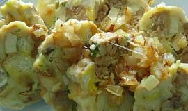 """Špekové"" knedlíky s tofu"