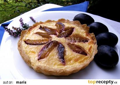 Švestkové koláčky - tartaletky