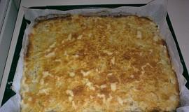 Sypaný jablečný koláč
