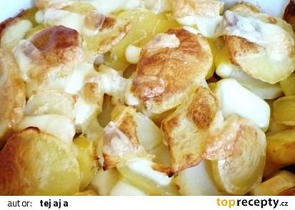 Zapečené brambory s anglickou slaninou