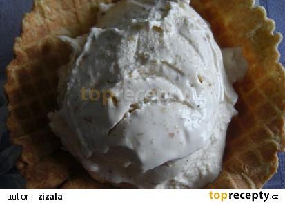 Zmrzlina z lískových oříšků