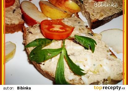 Bavorská škvarková pomazánka