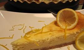 Citronovozázvorový cheesecake