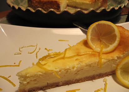 První cheesecake v životě :))