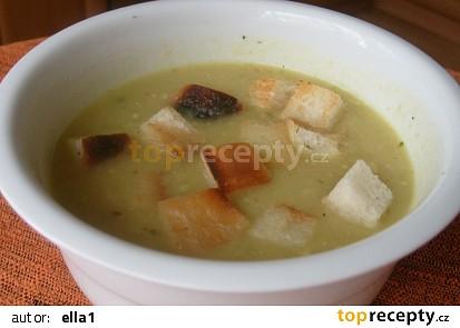 Cuketová polévka krémová