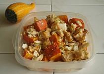 Dýňový salát s pečeným celerem