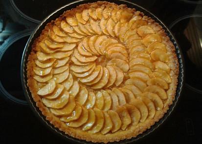 Jablečný dort bez skořice