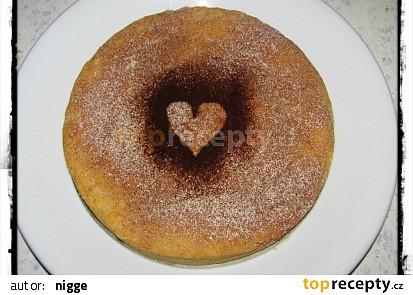 Jablečný křehký koláč