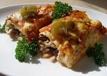 Kuřecí jalapeňo enchiladas ( zapečené)
