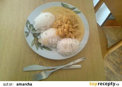 Kuřecí na ananasu a smetaně