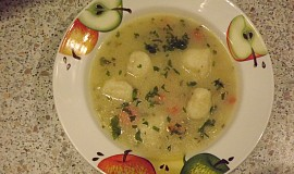 Květáková polévka s noky