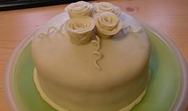 Malý dortík - můj první potahovaný