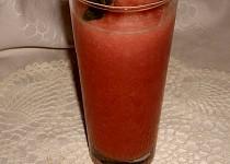 Melounový koktejl a tříšť