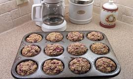 Muffins z ovesnych vlocek a ovocem