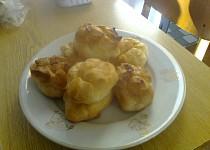 Odpalované věnečky s máslovým krémem
