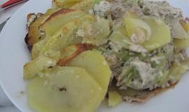 Pikantní bramborový pekáček