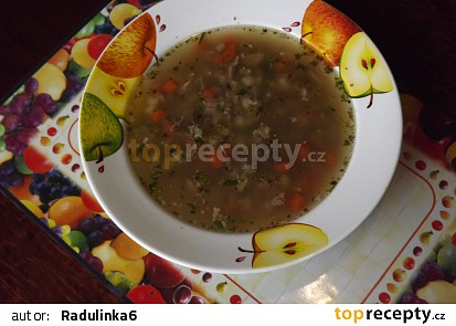 Polévka z krůtích krků