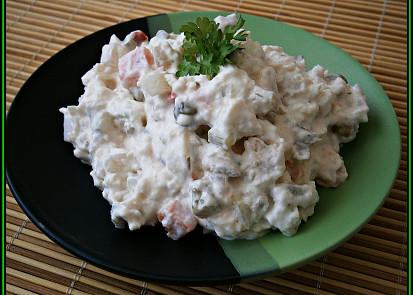 Rybí salát z pangaseII.