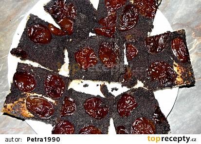 Švestkovo - makový koláč