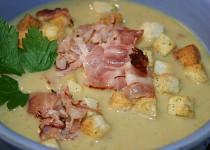 Babiččina hrášková polévka