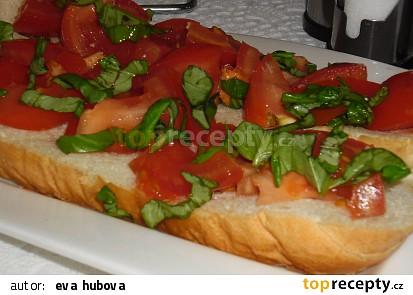 Bruschetta - jednoduchá snídaně