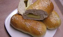 Bylinkové bagetky se sýrem