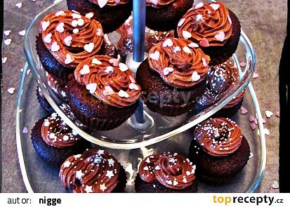 Čokoládové mini dortíky (Cupcakes)