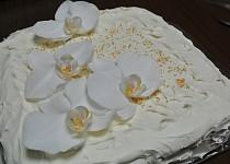 Karibský svatební dort
