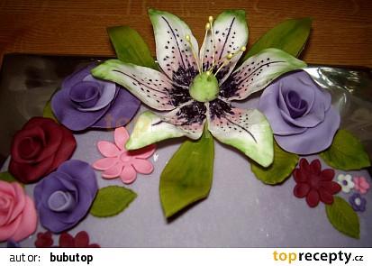 Květinový s lilií