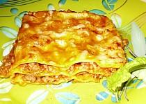 Lasagne s dýňovou omáčkou