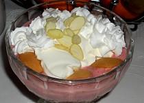 Ledová zmrzlina s piškotami