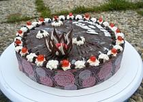 Pařížský dort s transfólií