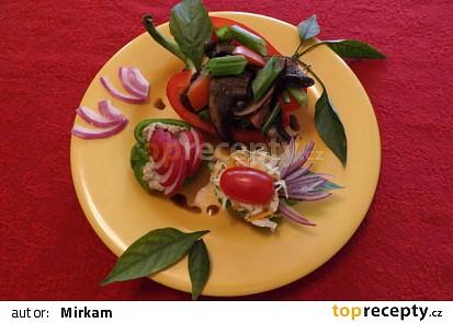Plnene syrove papriky