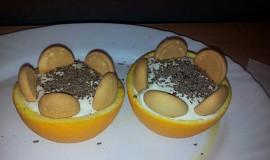 Pomerančové košíčky