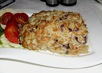 Sójová sekaná s rýží