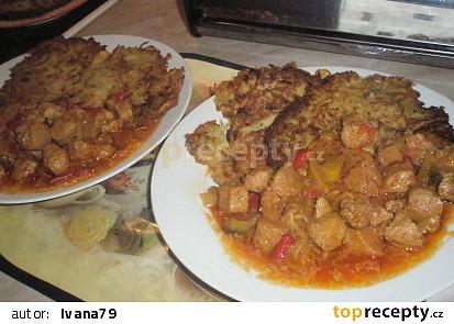 Sójové maso a la Katův šleh