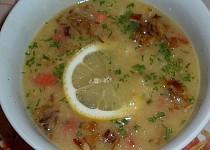 Egyptská čočková polévka Shurit