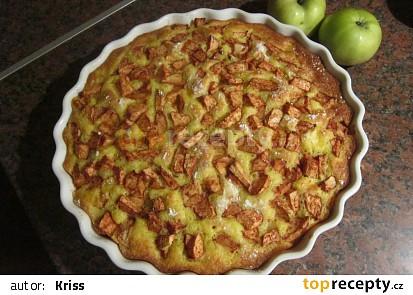Jablkový koláč podle Kamči