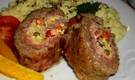 Jemná roláda z mletého masa