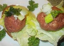 Kanapky s tatarským biftekem - tip na Silvestra