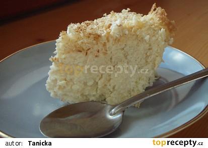 Kokosový dortík z fazolí