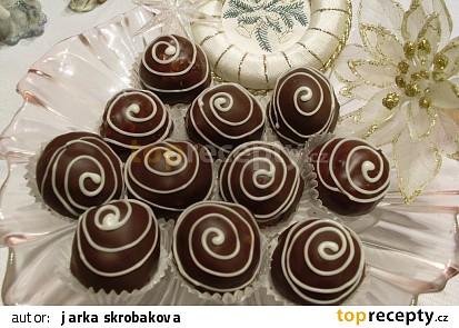 Kuličky z dortových oplatků