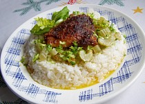 Kuře na smetanovém celeru